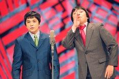 「M-1グランプリ」2001年優勝者の中川家。(c)ABC