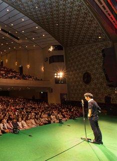 「キングコング西野亮廣独演会 in 日比谷公会堂」の様子。