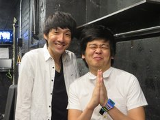 「K-PRO一日10公演耐久LIVE~メインMC・ザンゼンジ!~」を終えたザンゼンジ。