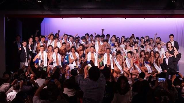 「ベストボディ・ジャパン2014関東オープン大会」の様子。(c)ベストボディジャパン協会