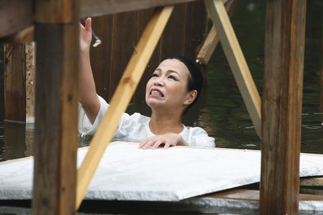 「全落・水落オープン」のDVDに収録されるワンシーン。(c)2014 フジテレビ