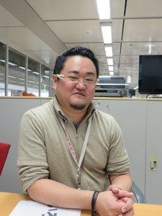 「いろもん極」を担当する鈴木淳一日本テレビ制作局主任。