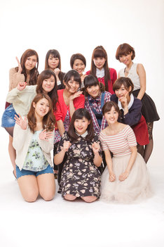 「第3回かわいすぎる女芸人No.1決定戦」にエントリーしている女芸人たち。(c)吉本興業