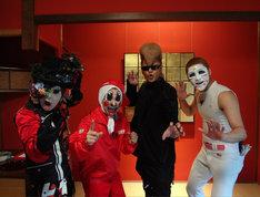 「笑神様は突然に… 人気キャラクター大集合スペシャル」に登場するチーム綾小路翔。 (c)日本テレビ
