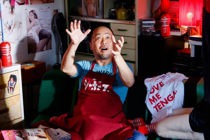 マキタスポーツが登場するワンシーン。(c)若杉公徳/講談社 (c)2015「映画 みんな!エスパーだよ!」製作委員会
