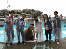 「笑神様は突然に…人気チームにアノ人がやって来た2時間スペシャル」チーム動物好き (c)日本テレビ