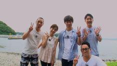 「笑神様は突然に…人気チームにアノ人がやって来た2時間スペシャル」千鳥の島シリーズ (c)日本テレビ