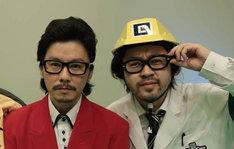 マツモトクラブとAR三兄弟の長男、川田十夢(左から)。