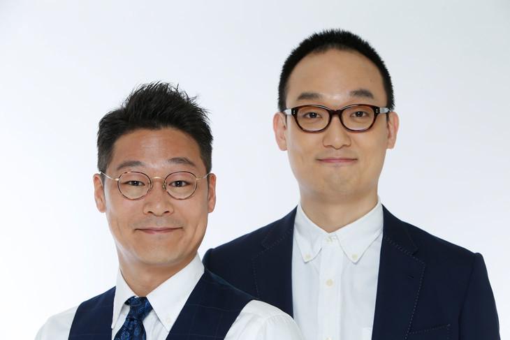 ピーマンズスタンダード。左から吉田寛、南川聡史。