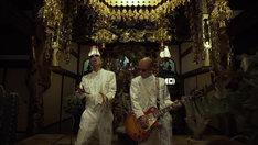 「励メタル」のミュージックビデオのワンシーン。
