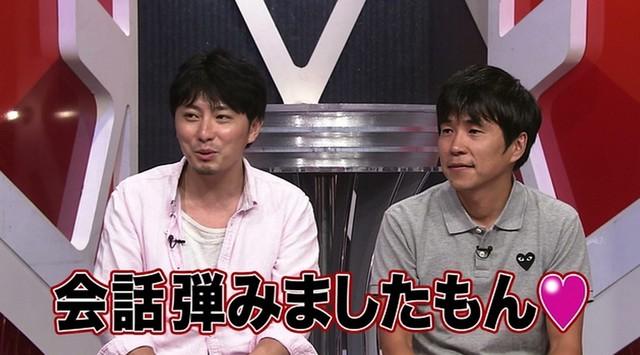シャカ大熊(左)と植松俊介(右)。 (c)日本テレビ