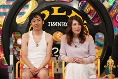 (左から)アンガールズ田中、KABA.ちゃん。(c)テレビ朝日