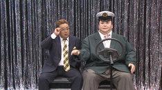 マツコロイドとコントに挑戦するサンドウィッチマン伊達。(c)日本テレビ