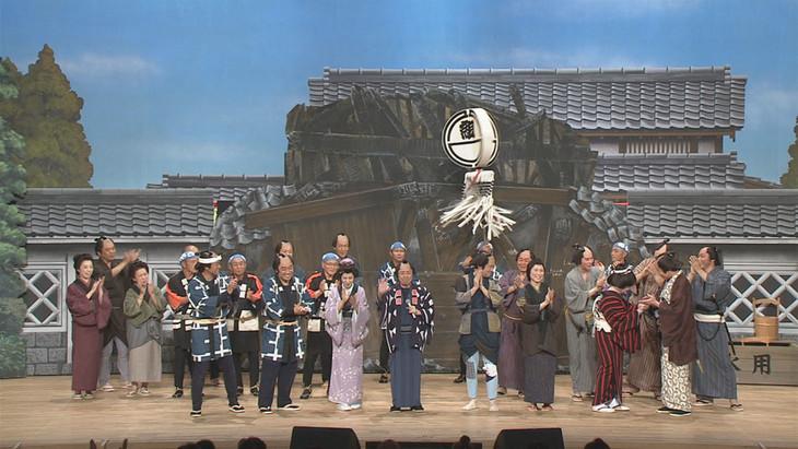 「コロッケぱらだいす ごきげん歌謡笑劇団」10月4日(日)放送回のワンシーン。(c)NHK