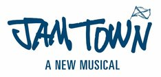 「A NEW MUSICAL『JAM TOWN』」ロゴ