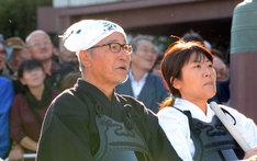 負けられなくなった大竹まこと(左)と光浦靖子(右)は呆然。