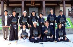 ゴールデンラジオ剣道部と「吉田照美 飛べ!サルバドール」チーム。