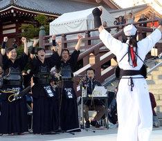 光浦の勝利に喜ぶゴールデンラジオ剣道部。