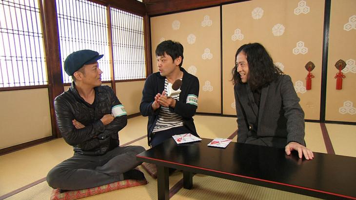 左から、シャンプーハットこいで、てつじ、ピース又吉。(c)関西テレビ