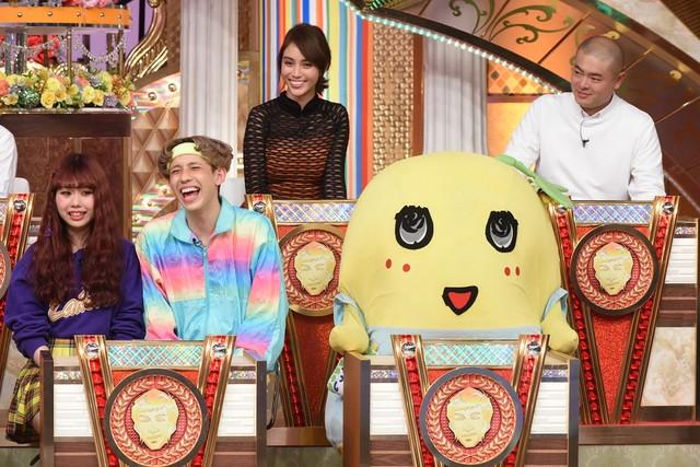 「史上最大のさんま早押しトーク」のパネラー陣。(c)日本テレビ