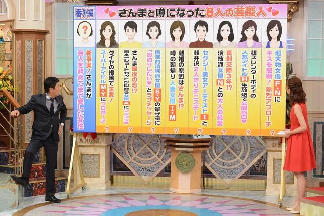 「史上最大のさんま早押しトーク」のワンシーン。(c)日本テレビ