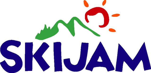 「スキージャム勝山」ロゴ