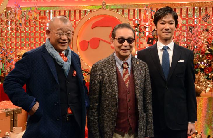 タモリと鶴瓶」新春SPで堺雅人と...