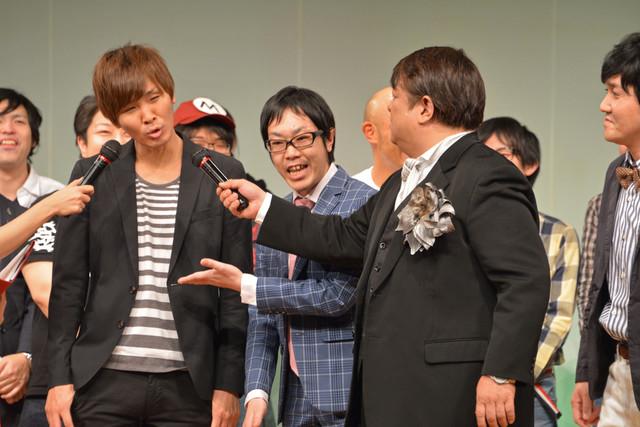 ネタ中で披露した野沢雅子のモノマネをリクエストされるアイデンティティ。