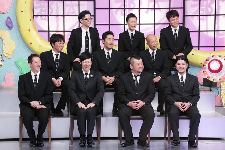 「やりすぎ都市伝説スペシャル 2015冬」都市伝説テラーたち。(c)テレビ東京