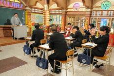 森永卓郎の授業のワンシーン。(c)テレビ朝日