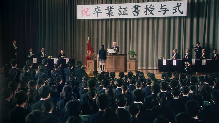 タウンワーク新CM「卒業編」のワンシーン。