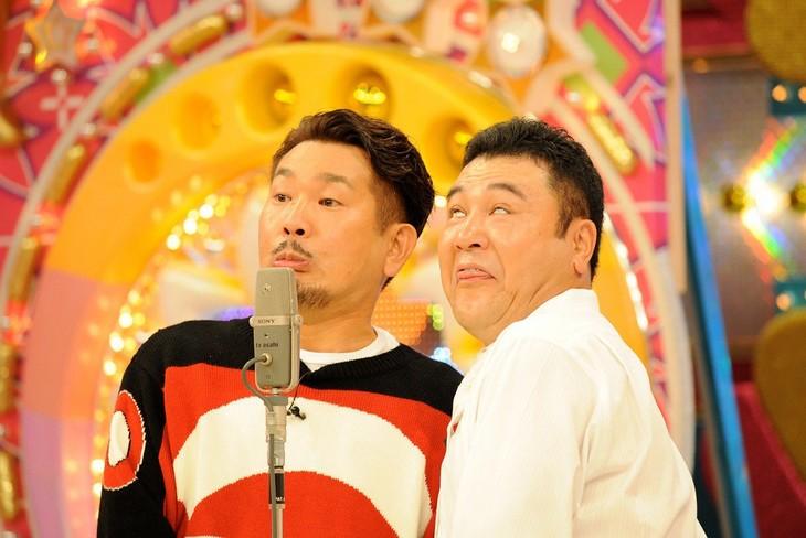 「ザキヤマ&フジモンがパクりたい-1グランプリ」のワンシーン。(c)テレビ朝日