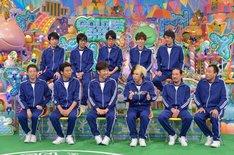 「運動神経悪い芸人」のワンシーン。(c)テレビ朝日