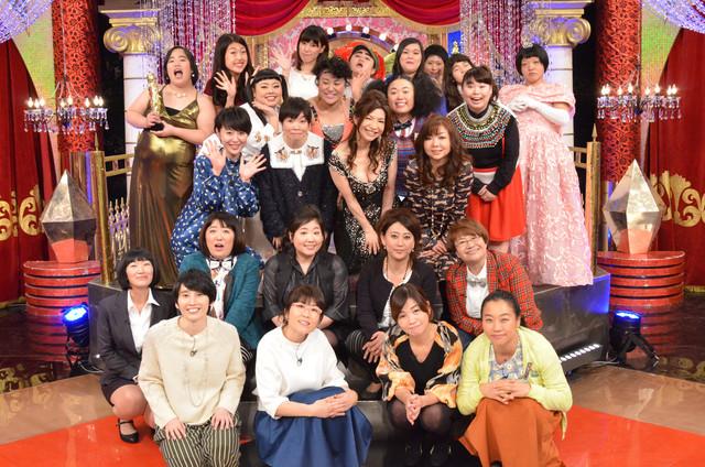 「女芸人争奪!ガールズスカウト2016」(c)日本テレビ