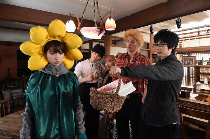 「ダメな私に恋してください」に出演する安田大サーカス・クロちゃん。(c)TBS