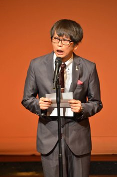 FKDZへの手紙を読む磁石・永沢。