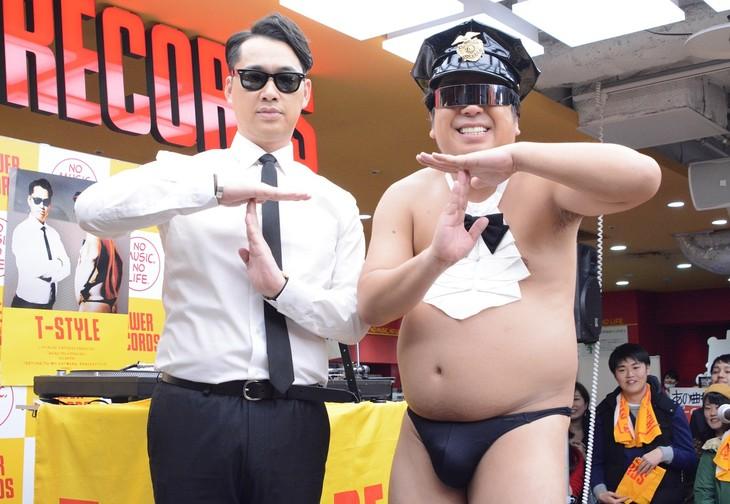 バナナマン扮するT-STYLEが渋谷...