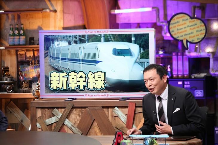 「雨上がりの『Aさんの話』~事情通に聞きました!~」に出演する、中川家・礼二。(c)ABC