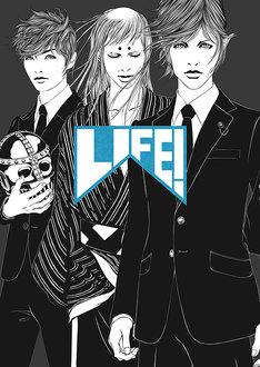 「LIFE! ~人生に捧げるコント~  DVD-BOX」ジャケットの表面。