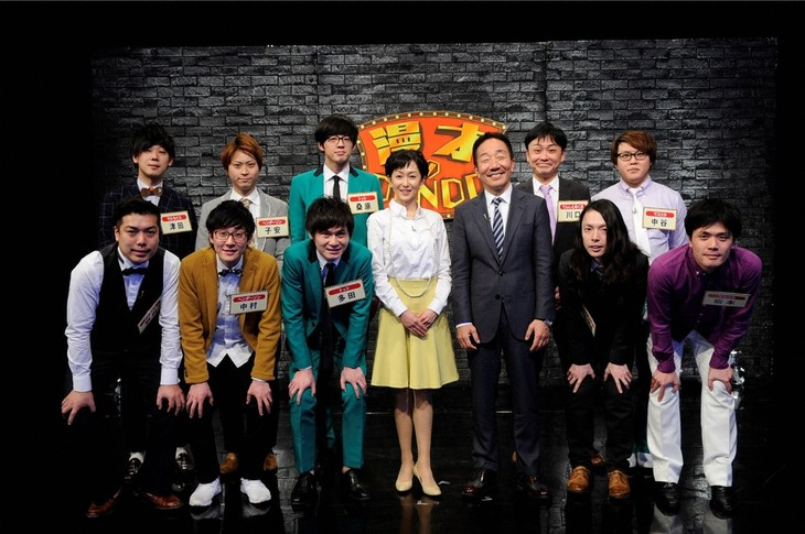 「漫才のDENDO」出演者たち。(c)ABC