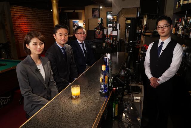 左から鈴木ちなみ、杉村太蔵、新井健一、田畑藤本・藤本。