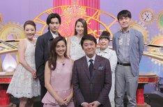 「忍24時」の出演者たち。(c)日本テレビ