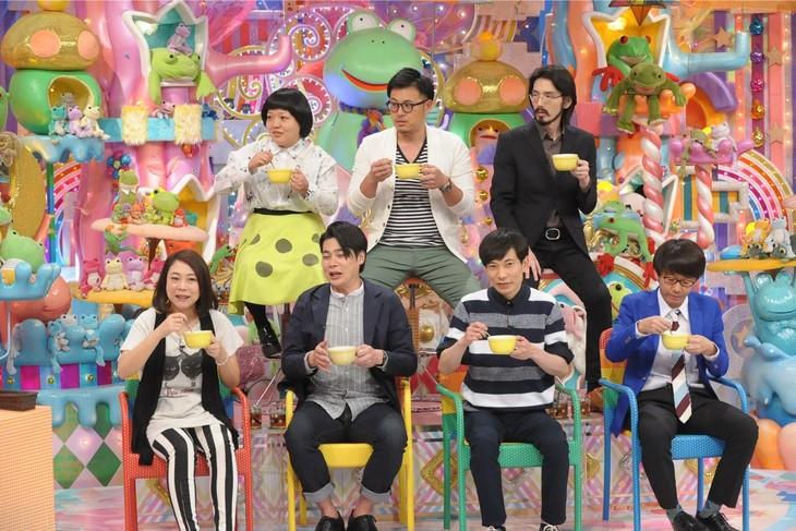 「アメトーーク!」に集結する「猫舌芸人」たち。(c)テレビ朝日