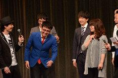 集計中、「ケイちゃんと付き合ってた」と嘘をつく橋本と、「そう思わせちゃってたのならごめんなさい」とあしらう相席スタート山崎。