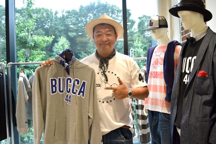 「BUCCA 44」のディレクターを務めるTKO木下。