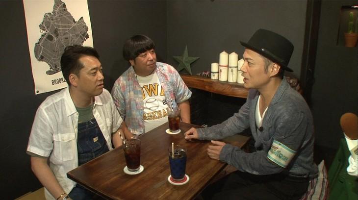 「マルコポロリ!」に出演するバナナマンと、シャンプーハットこいで(右)。(c)関西テレビ
