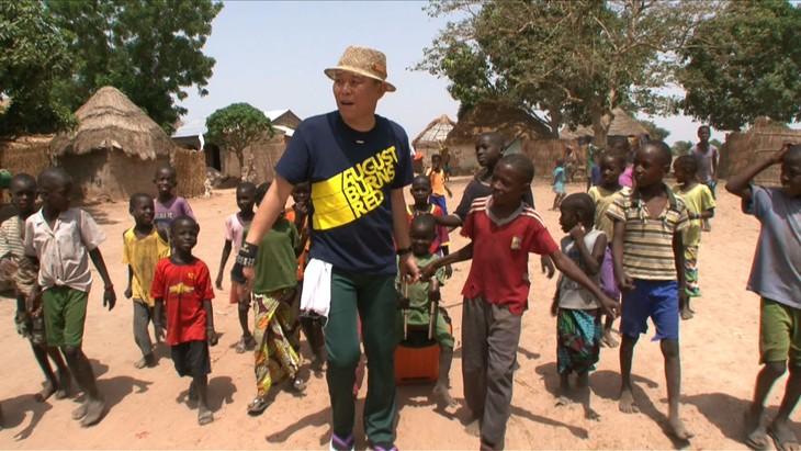 千原せいじアフリカのガンビア