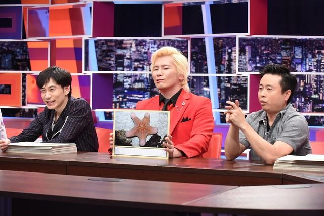 (左から)インパルス板倉、メイプル超合金カズレーザー、次長課長・河本。(c)中京テレビ