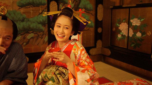 第1回「お見立て」で花魁を演じる前田敦子。(c)NHK