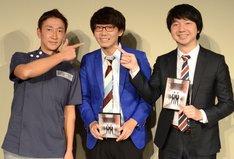 左から佐藤医院長、三四郎。